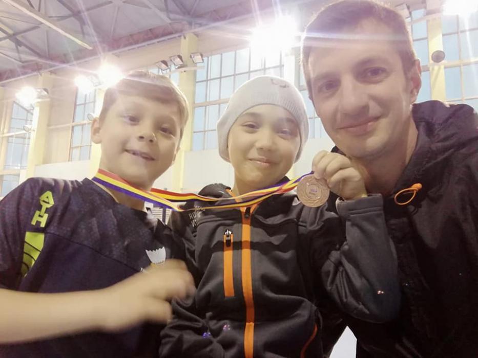 Sportivi de la #ACSTransilvania #badminton sunt pe val