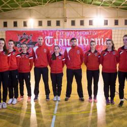 """Senioarele de la Transilvania """"Wild Cats"""" Brașov au făcut un pas mare spre prima ligă de volei"""