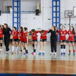 Handbal Junioare – parcurs de retur numai cu victorii!