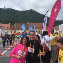 Aur la Maratonul International Brașov 2018