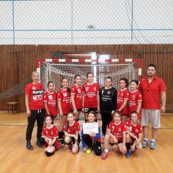 Si cele mai mici hanbaliste de la ACS Tansilvania Brasov s-au calificat in Turneul Semifinal!