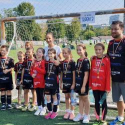 Micuții handbaliști de la Transilvania, la Festivalul Național de BabyHandbal 2018