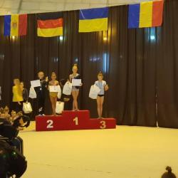 Patricia Cabuz, de la ACS Transilvania, argint la Lion Cup de la Lvov