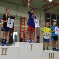 Maxim Iacob, vicecampion național la badminton (U9)