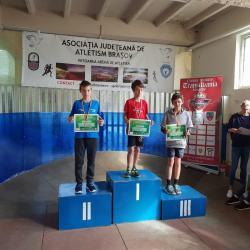 """100 de copii la prima ediție a """"Cupei Transilvania"""" la atletism"""