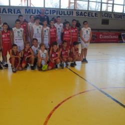 """Baschetbaliștii U13 au jucat """"acasă"""" a patra etapă din Campionatul Național"""