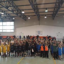 ACS Transilvania a gazduit turneul 1 de minihandbal masculin (EuroRegiunea 7)