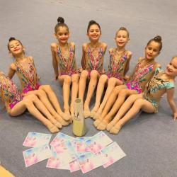 Formă bună și medalii pentru micile gimnaste de la ACS Transilvania, înainte de Campionatele Naționale de Copii