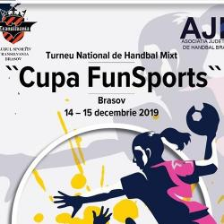 Turneul Național de handbal mixt Cupa FunSports, Brasov, 14-15 decembrie 2019