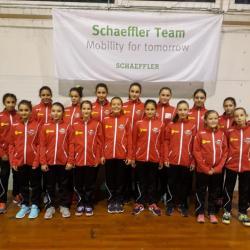 Handbal: Junioarele 4, test cu CSM Ploiești