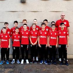 Echipa de baschet U13 a ACS Transilvania, gânduri pentru o medalie în Campionatul Național