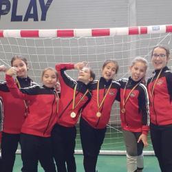 Weekend plin pentru echipa de minihandbal-fete