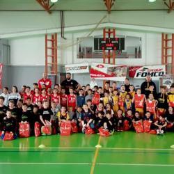 Echipele de baby și minibaschet au jucat în City League, la Târgu Mureș