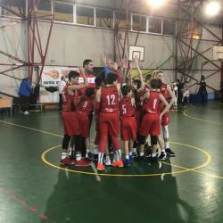 Încheiem anul cu doua victorii la baschet U13