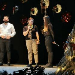 Vicecampioana olimpică Doina Stăiculescu și viceprimarul Costel Mihai au fost alături de micile gimnaste ale ACS Transilvan