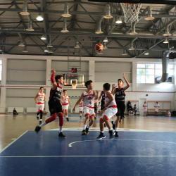 Primele teste din noul an pentru echipa de baschet U13