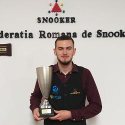 ACS Transilvania Brașov, aur în Cupa României la snooker (tineret) / La seniori, clubul nostru a obținut medalia de argint