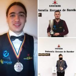 An excelent pentru snookerul de la ACS Transilvania: Trei medalii în Campionatul Național și una în Cupa României