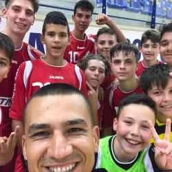 Victorie și pentru juniorii 3, la debutul în Campionatul Național.